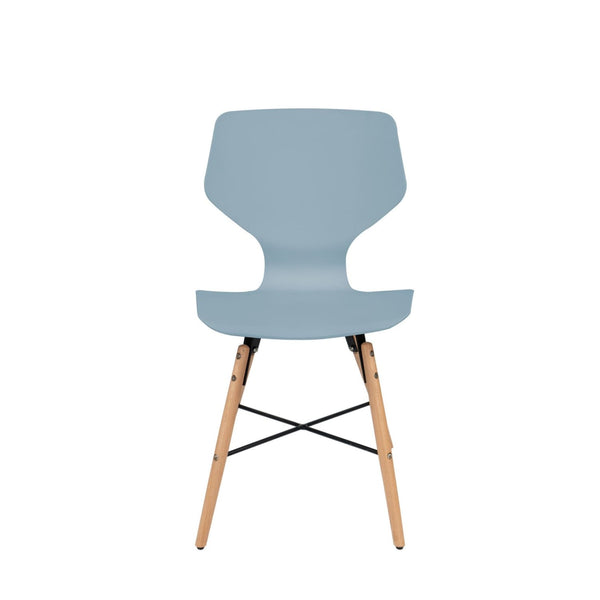 Chaise Design - Charlie 110 Lot De 4 Gris Bleu