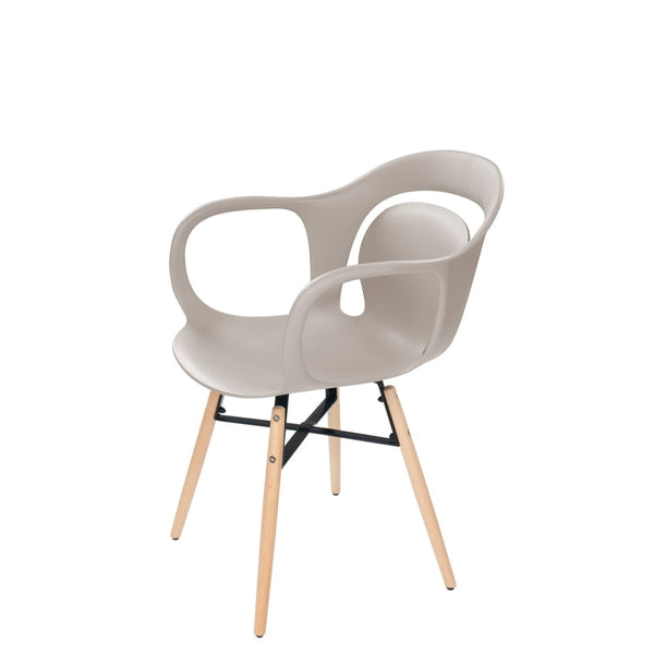 Chaise Design - Chuck 110 Lot De 4 Beige