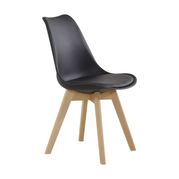 Chaise Design - College 110 Lot De 2 Noir
