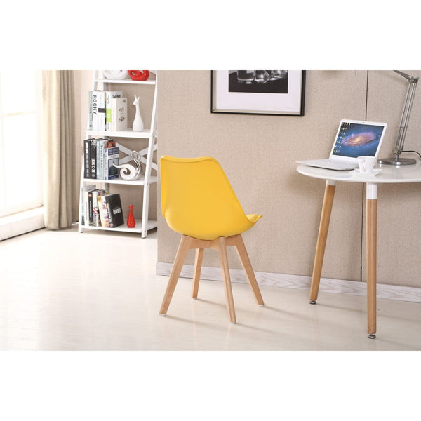Chaise Design - College Jaune