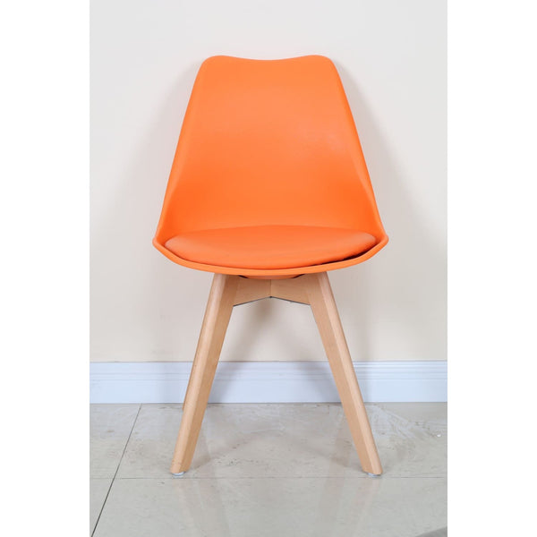 Chaise Design - College Orange