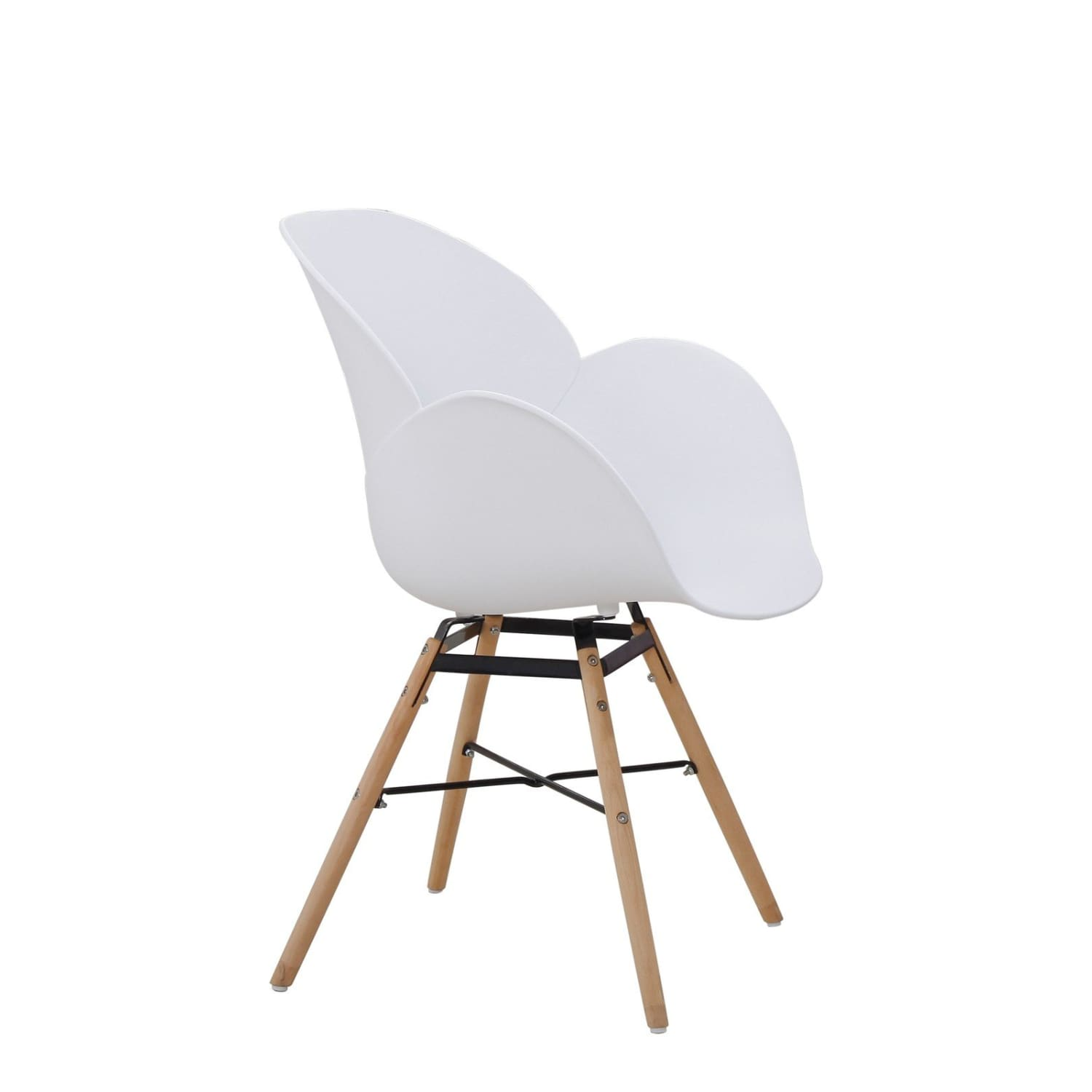 Chaises Design - Amalia 110 Lot De 2 Blanc