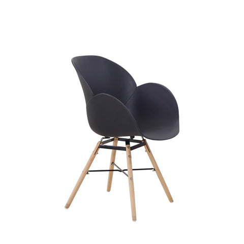 Chaises Design - Amalia 110 Lot De 2 Noir