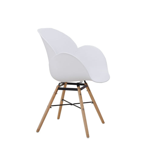 Chaises Design - Amalia 110 Lot De 4 Blanc