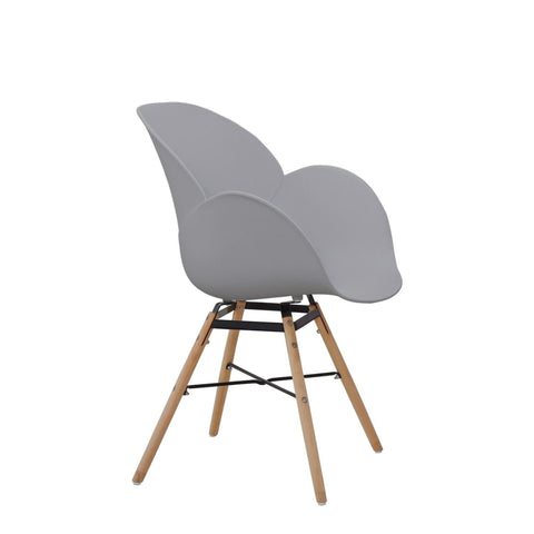 Chaises Design - Amalia 110 Lot De 4 Gris