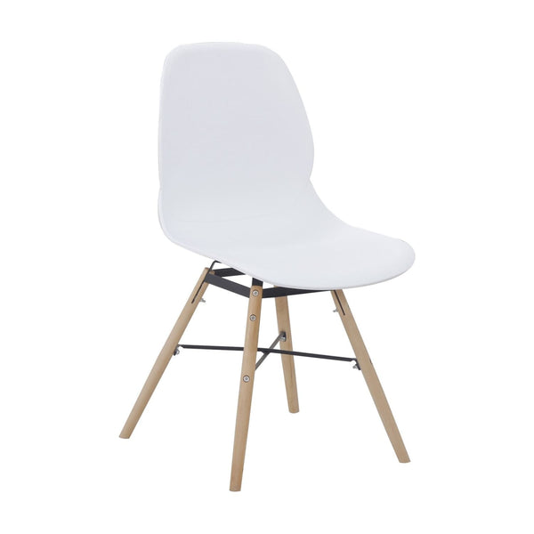 Chaises Design - Amy 110 Lot De 2 Blanc