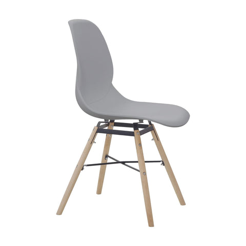 Chaises Design - Amy 110 Lot De 2 Gris