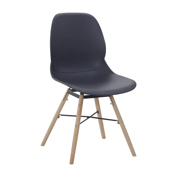 Chaises Design - Amy 110 Lot De 2 Noir