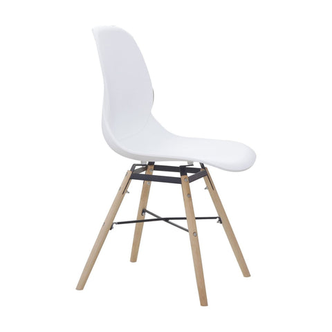 Chaises Design - Amy 110 Lot De 4 Blanc