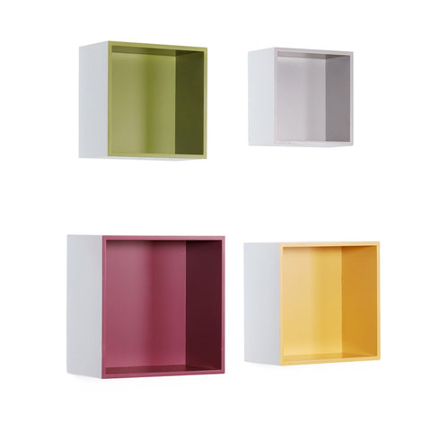 Étagère Murale Quadro 210 Lot De 4 Multi