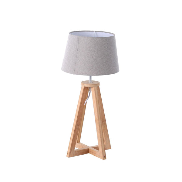 Lampe De Table Design - Rasala 250 Naturel / Gris