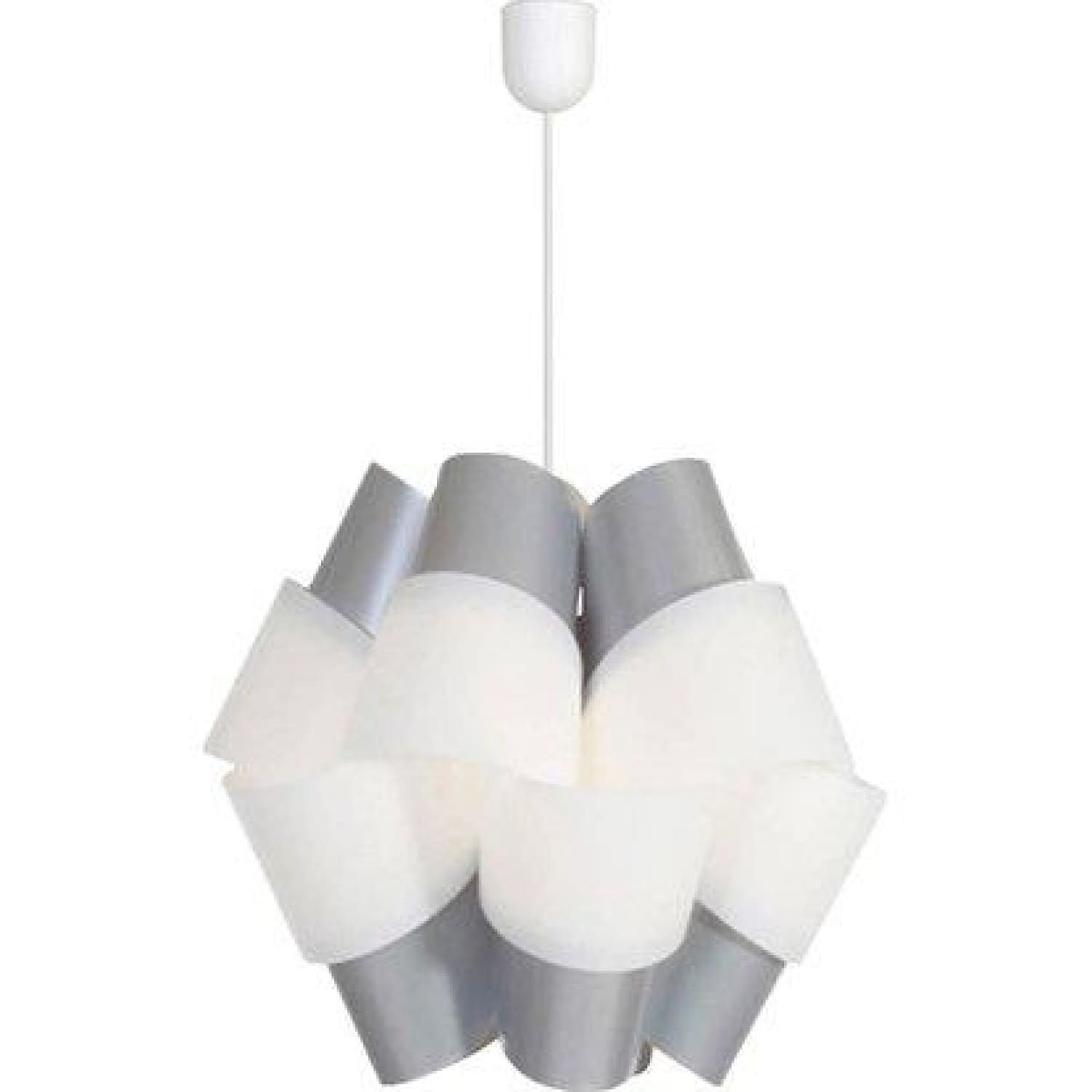 Lampe Suspension Bouquet 110 Gris / Blanc