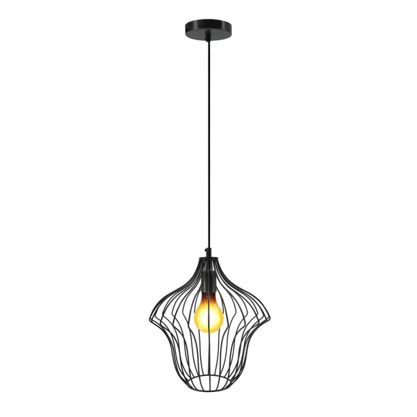 Lampe Suspension Design - Capella Noir