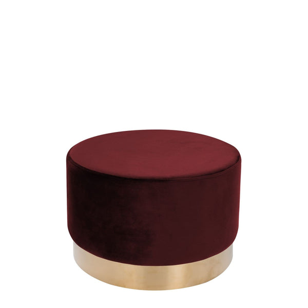 Pouf - Tabouret Nano 510 rouge 9VZJT | Yorohome