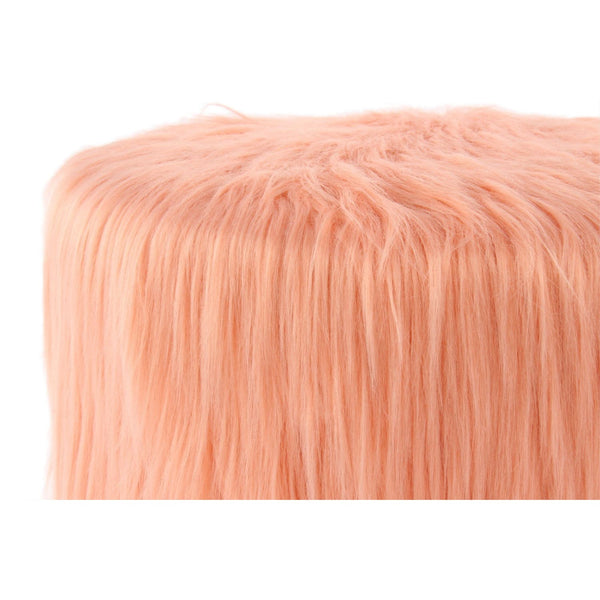 Pouf - Tabouret Polly 525 Abricot