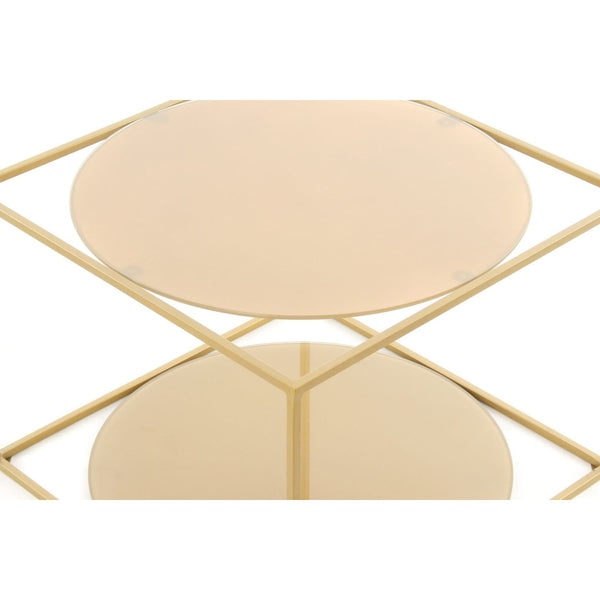 Table Basse - Cody 110 Gold - Gold
