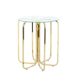 Table Basse - Sherryl 110 Gold