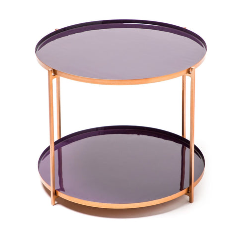 Table Basse  - Tessa 210 Prune