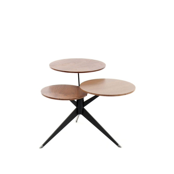 Table Basse - Triplet 110 Marron - Noir
