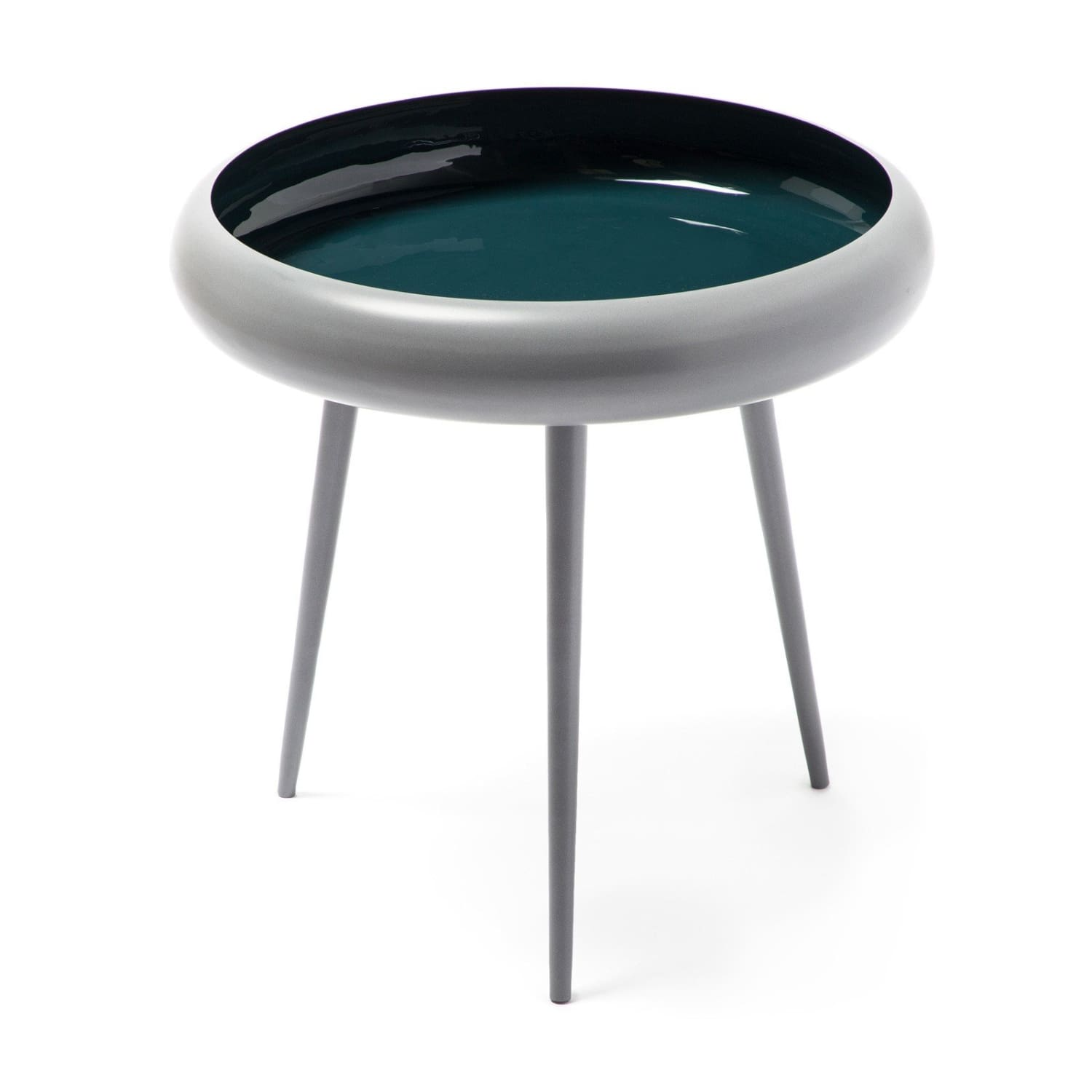 Table d'appoint - Coast 210 Gris - Turquoise