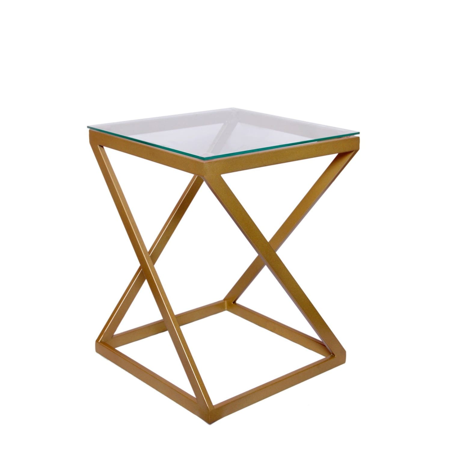 Table d'appoint - Mantra 140 Clair - Gold