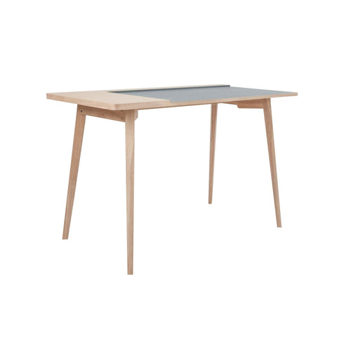 Table de bureau - Addison I Cendre - Gris