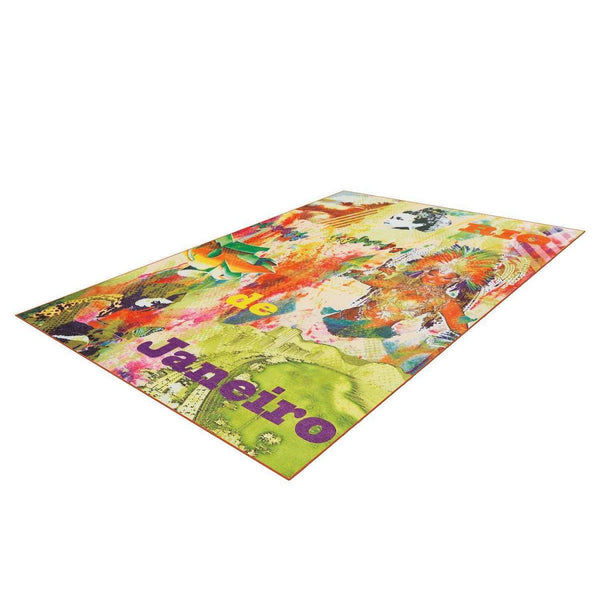 Tapis Design Moderne Flash 2701 Multi Rio