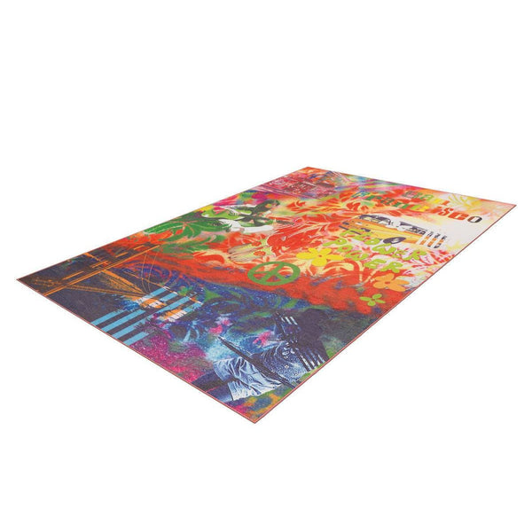 Tapis Design Moderne Flash 2702 Multi Sanfran