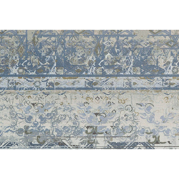 Tapis Design Moderne Flash 2707 Multi / Bleu