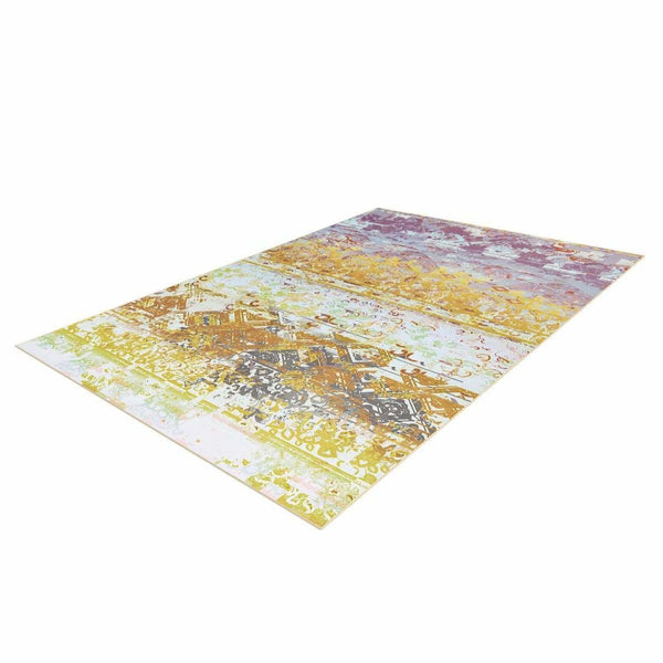 Tapis Design Moderne Flash 2707 Multi - Jaune
