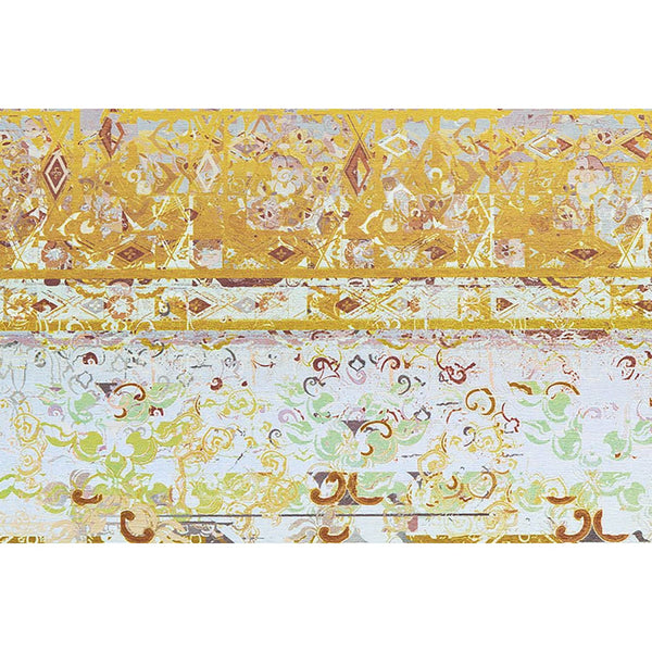 Tapis Design Moderne Flash 2707 Multi / Jaune