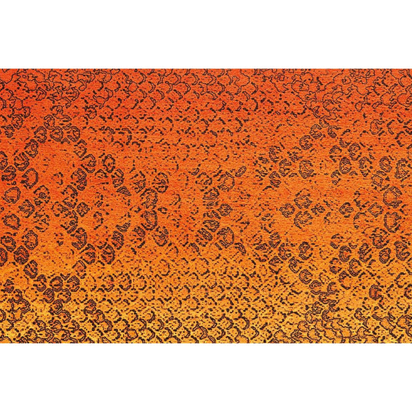 Tapis Design Moderne Flash 2708 Orange