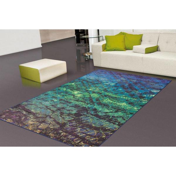 Tapis Design Moderne Flash 2709 Turquoise