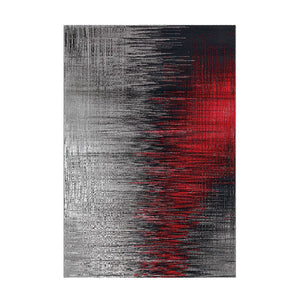 Tapis Design Moderne Move 4453 Gris / Rouge