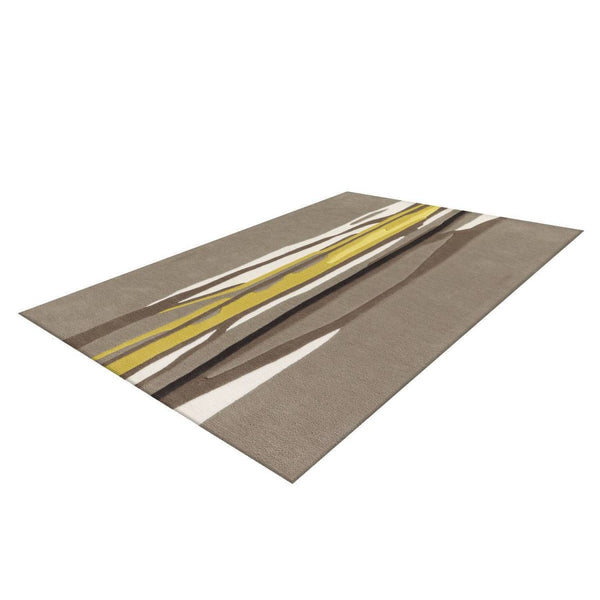 Tapis Design Moderne Spirit 3088 Taupe - Curry