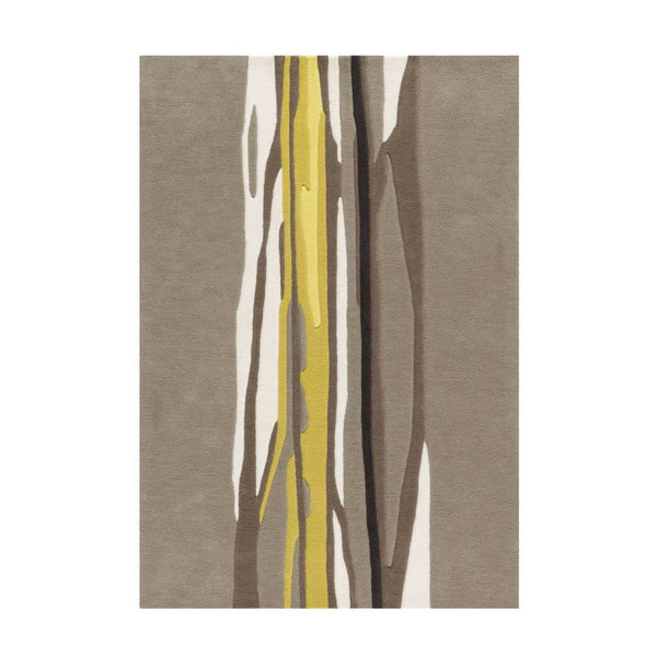 Tapis Design Moderne Spirit 3088 Taupe / Curry