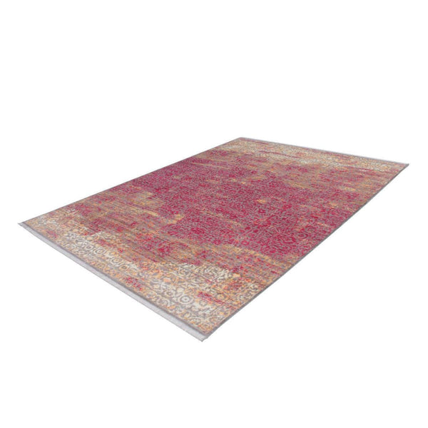 Tapis Design Traditionnel Antigua 200 Orange - Rouge