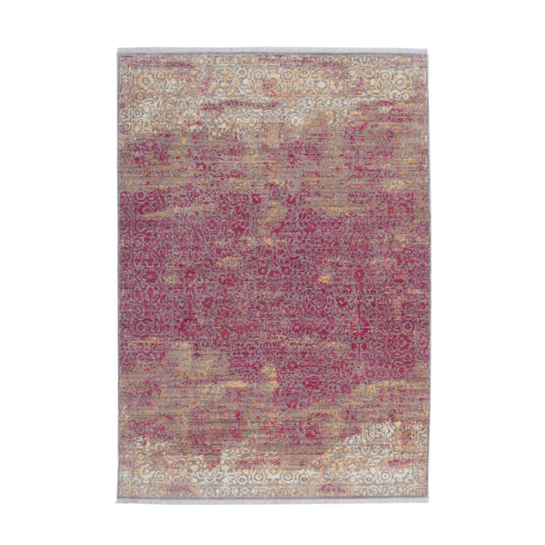 Tapis Design Traditionnel Antigua 200 Orange / Rouge