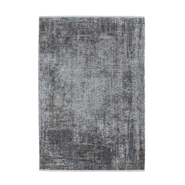 Tapis Design Traditionnel Antigua 300 Gris / Turquoise