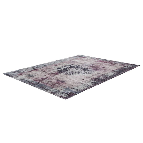 Tapis Design Traditionnel Vintage 8403 Anthracite
