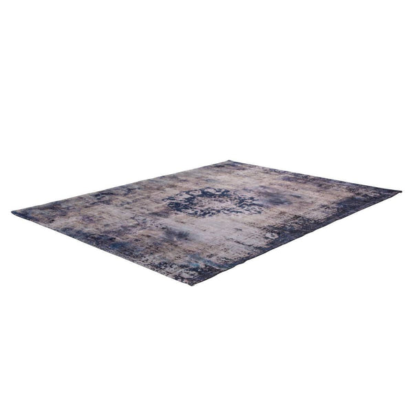 Tapis Design Traditionnel Vintage 8403 Bleu