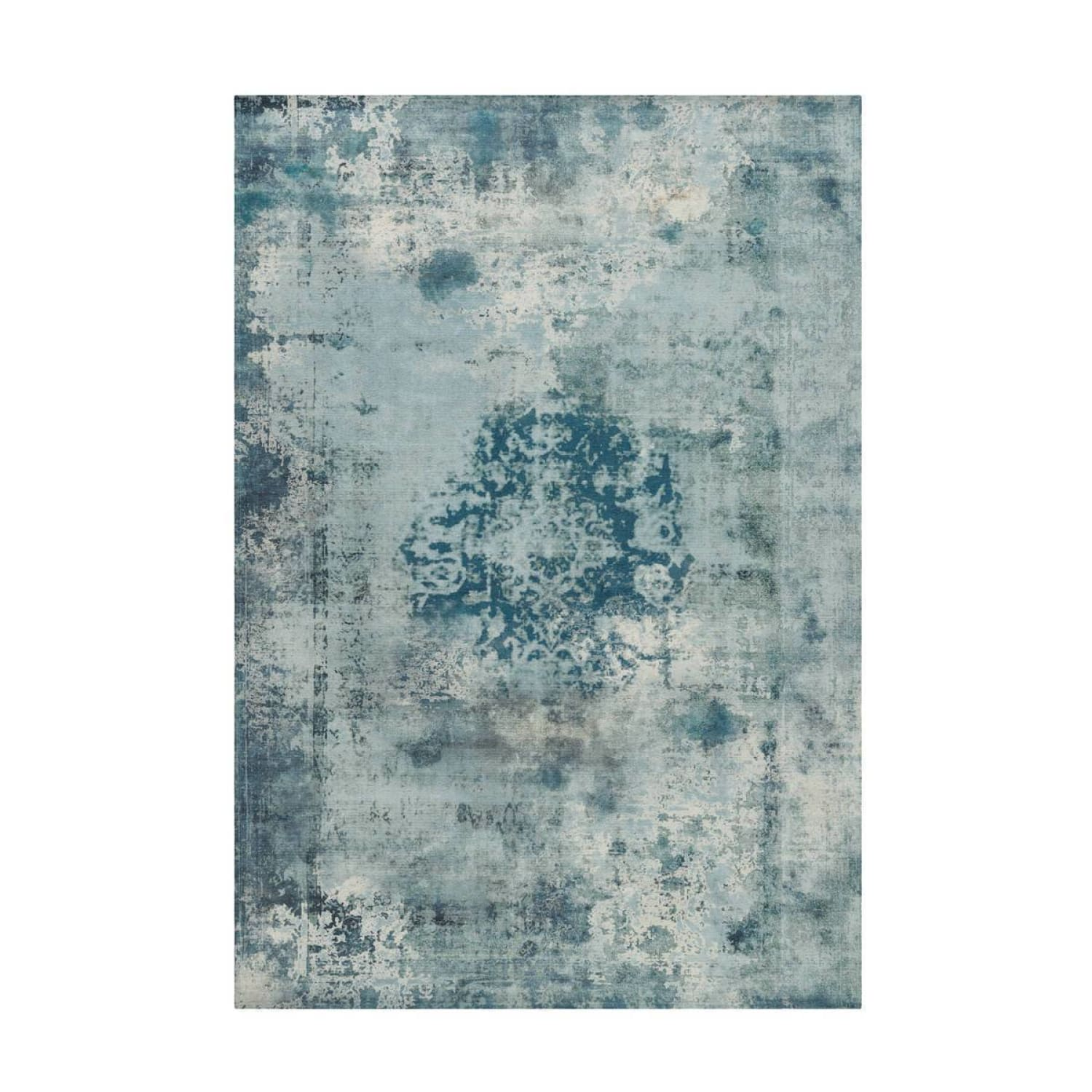 Tapis Design Traditionnel Vintage 8403 Petrol