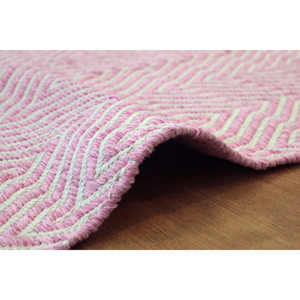 Tapis En Cotton - Aperitif 410 Rose
