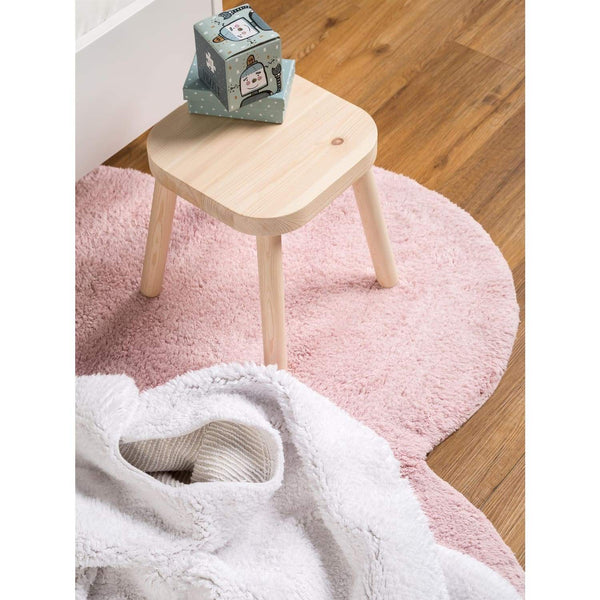 Tapis Enfant - Bambini Cloud - Rose