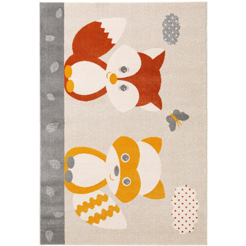 Tapis Enfant - Fantasia Best Friends - Orange