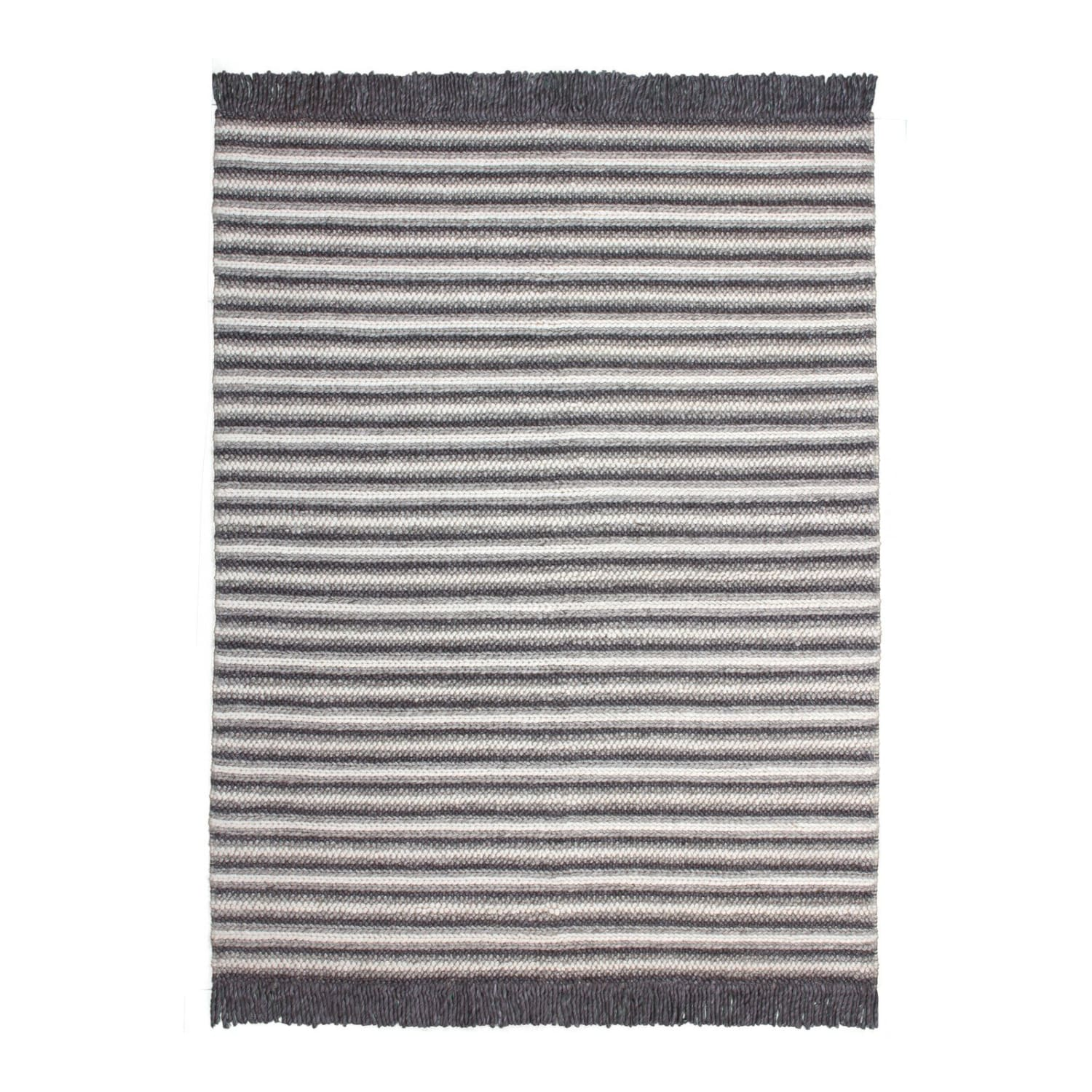 Tapis France - Natura 310 Naturel - Anthracite