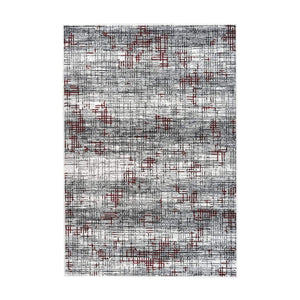 Tapis Moderne - Vancouver 310 Multicouleur - Rouge