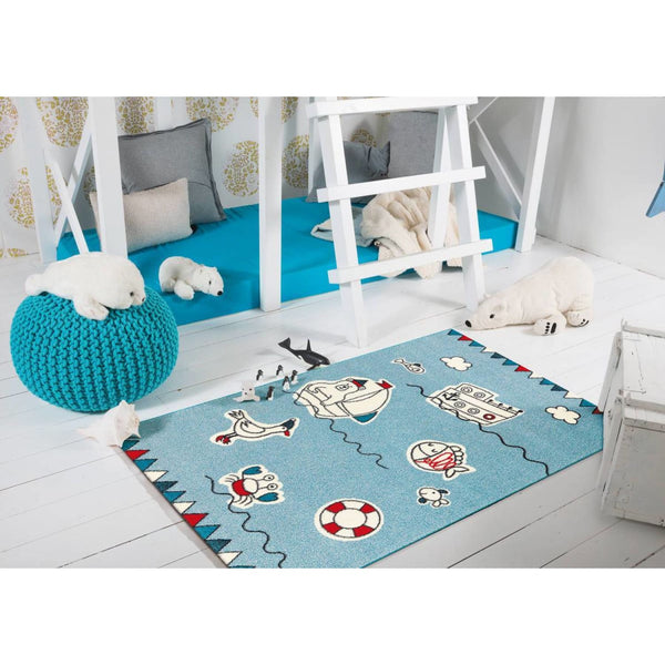 Tapis Pour Enfants - Move 4482 Multi Sea