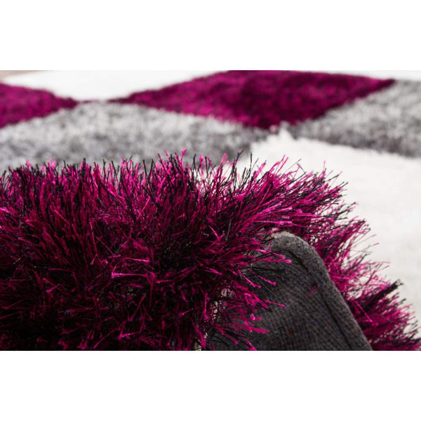 Tapis Shaggy - Diamond 752 Gris