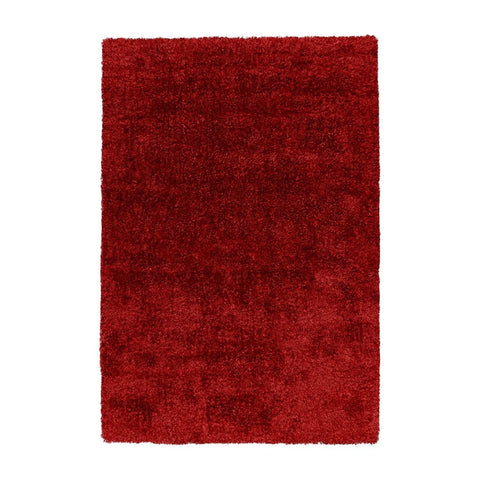 Tapis Shaggy - Grace Rouge